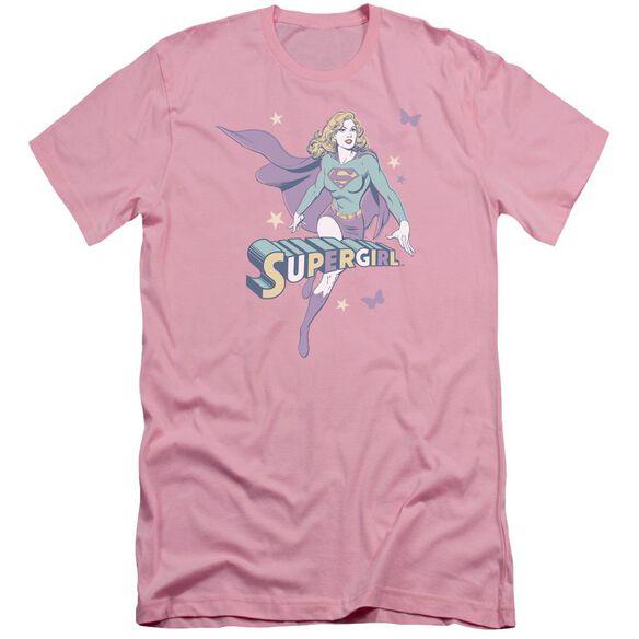 Dc Supergirl Pastels Short Sleeve Adult T-Shirt