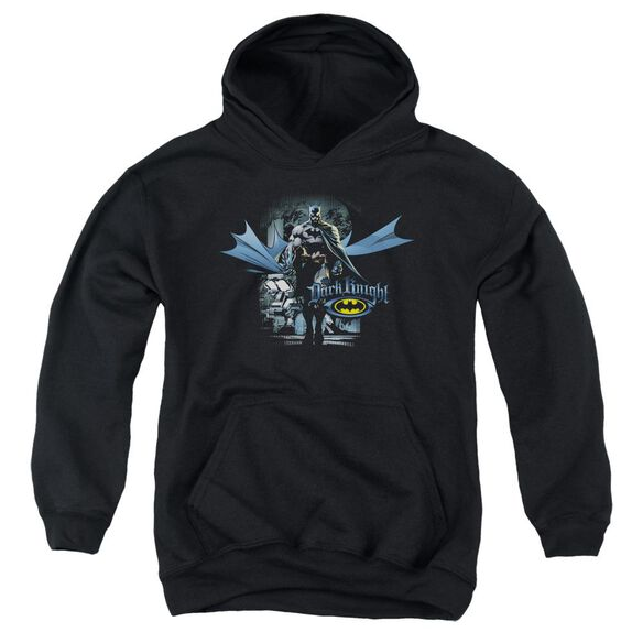 Batman From The Depths Youth Pull Over Hoodie