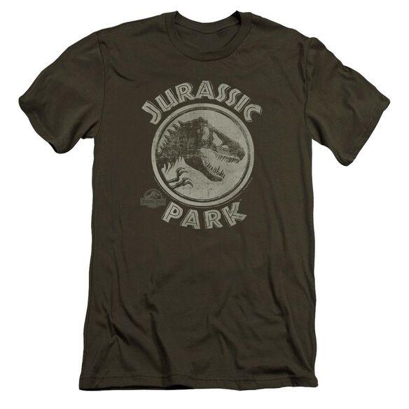 Jurassic Park Jp Stamp Premuim Canvas Adult Slim Fit Military