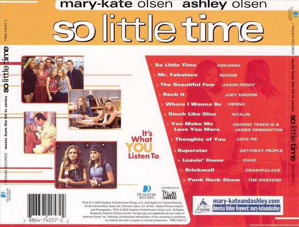 So Little Time Olsen Twin