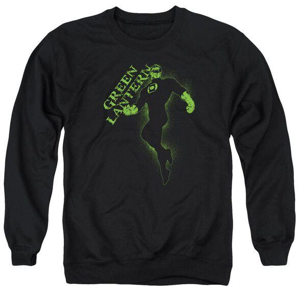 Gl Lantern Darkness Adult Crewneck Sweatshirt