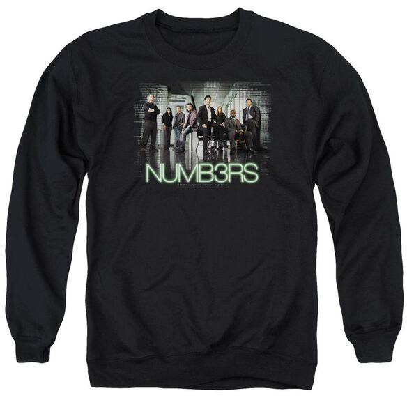 Numb3 Rs Numbers Cast Adult Crewneck Sweatshirt