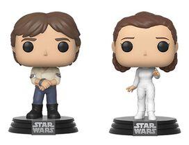 Funko Pop!: Star Wars - Han & Leia [2-pack]