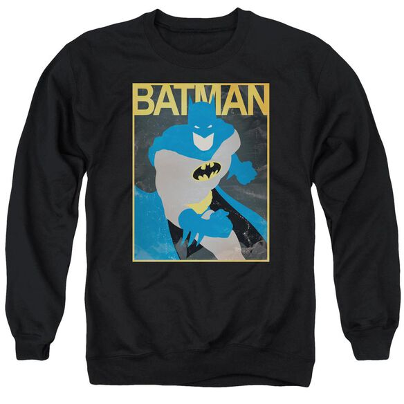 Batman Simple Bm Poster Adult Crewneck Sweatshirt