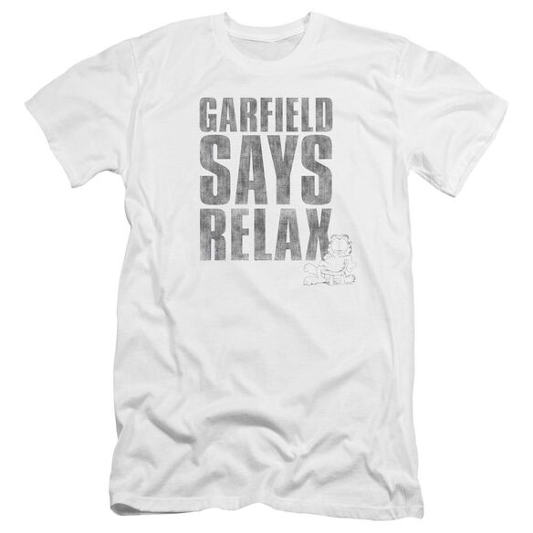 Garfield Relax Premuim Canvas Adult Slim Fit