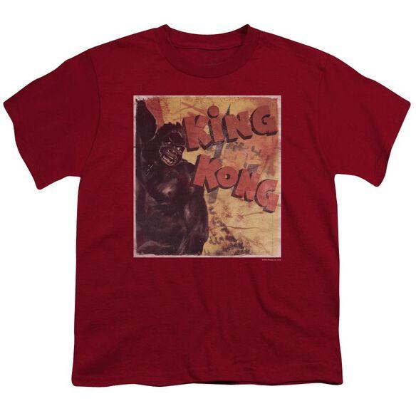 King Kong Primal Rage Short Sleeve Youth T-Shirt