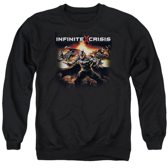 Infinite Crisis Batmen Adult Crewneck Sweatshirt
