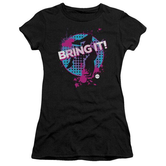Bring It Bring It Short Sleeve Junior Sheer T-Shirt