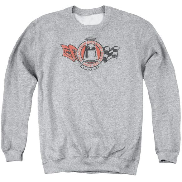 Chevrolet Gentlemen's Racer Adult Crewneck Sweatshirt Athletic