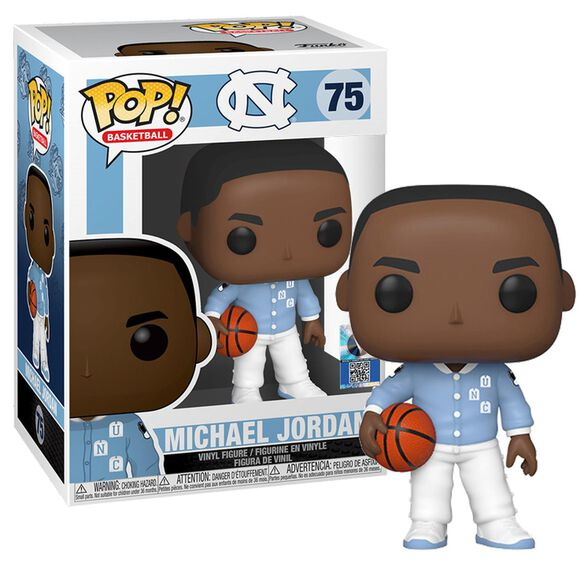 Funko Pop!: Michael Jordan [UNC Warm Ups]