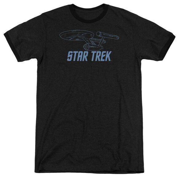Star Trek Enterprise Outline Adult Heather Ringer