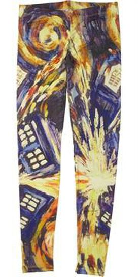 Doctor Who Pandorica Opens Leggings