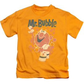 Mr Bubble Towel And Duckie Short Sleeve Juvenile T-Shirt