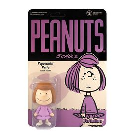 Peanuts Peppermint Patty ReAction Figure