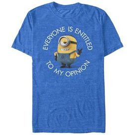 Despicable Me My Opinion T-Shirt