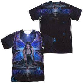 Anne Stokes Immortal Flight (Front Back Print) Short Sleeve Adult Poly Crew T-Shirt