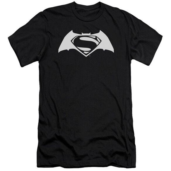 Batman V Superman Simple Logo Short Sleeve Adult T-Shirt