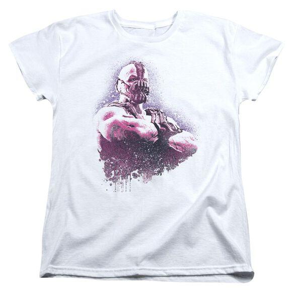 Dark Knight Rises Spray Bane Short Sleeve Womens Tee T-Shirt