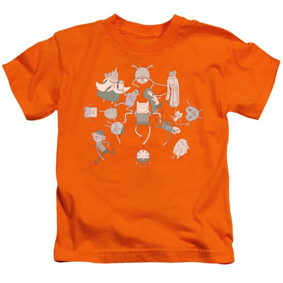 Adventure Time Glob Ball Short Sleeve Juvenile Orange T-Shirt