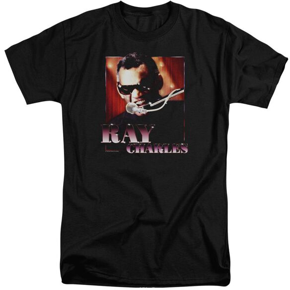 Ray Charles Sing It Short Sleeve Adult Tall T-Shirt