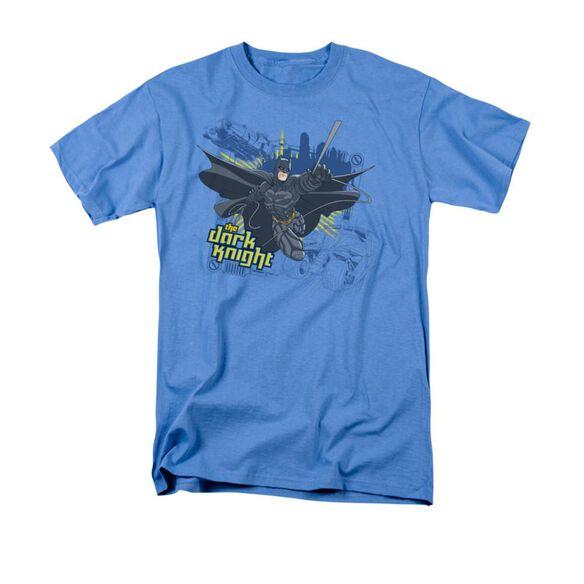 Dark Knight Jump Swing And Drive Short Sleeve Adult Carolina Blue T-Shirt