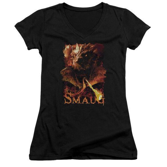 Hobbit Smolder Junior V Neck T-Shirt