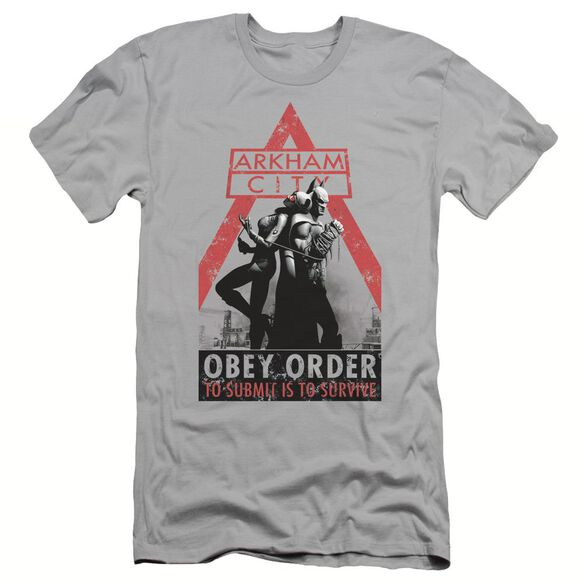 ARKHAM CITY OBEY ORDER - S/S ADULT 30/1 T-Shirt