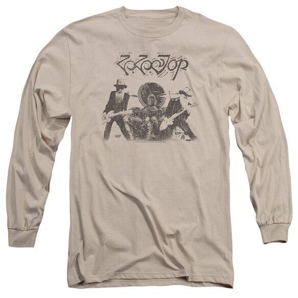 Zz Top First Album Long Sleeve Adult T-Shirt