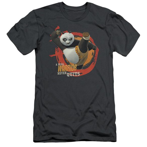 Kung Fu Panda Real Warrior Short Sleeve Adult T-Shirt