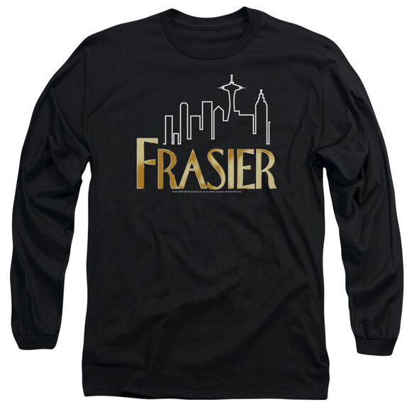 Frasier Frasier Logo Long Sleeve Adult T-Shirt