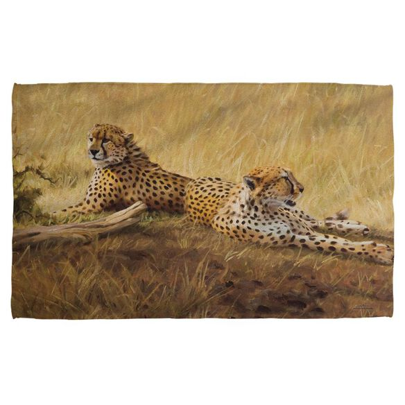 Wild Wings African Cats 2 Bath Towel