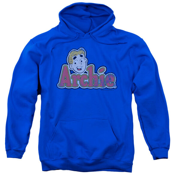 Archie Comics Distressed Archie Logo-adult Pull-over