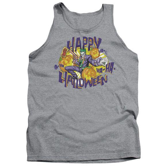 Batman Ha Ha Halloween Adult Tank Athletic