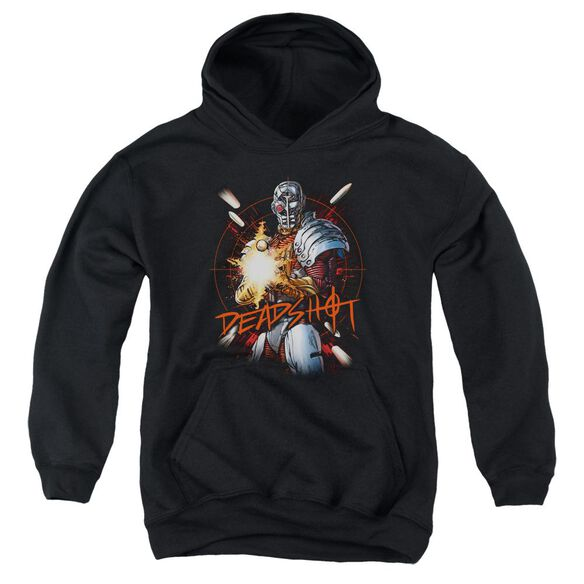 Jla Deadshot Youth Pull Over Hoodie