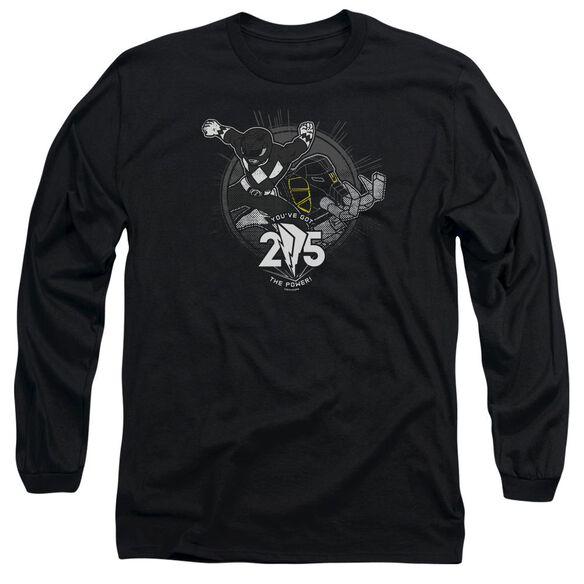 Power Rangers 25 Long Sleeve Adult T-Shirt