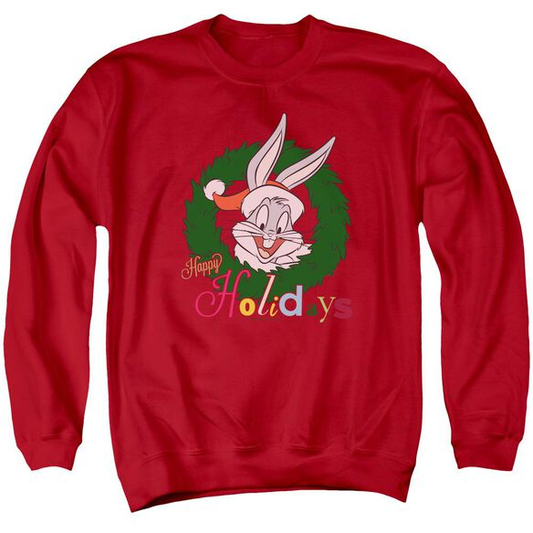 Looney Tunes Holiday Bunny Adult Crewneck Sweatshirt