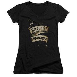 Harry Potter Mischief Managed Junior V Neck T-Shirt