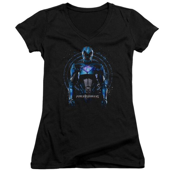 Power Rangers Blue Ranger Junior V Neck T-Shirt