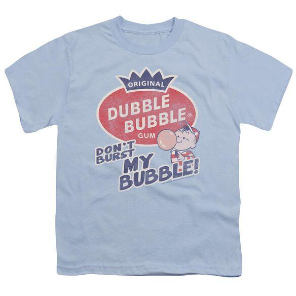 Dubble Bubble Burst Bubble Short Sleeve Youth Light T-Shirt