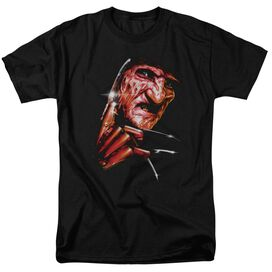 Nightmare On Elm Street Freddys Face Short Sleeve Adult T-Shirt