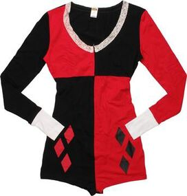 Harley Quinn Costume Junior Romper