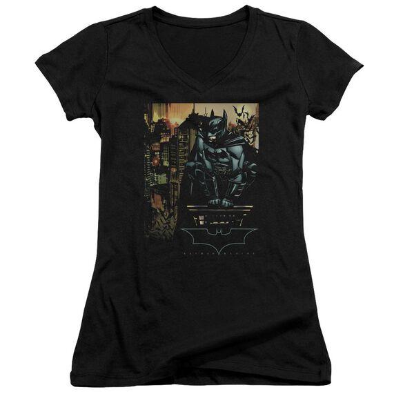 Batman Begins Waiting Junior V Neck T-Shirt