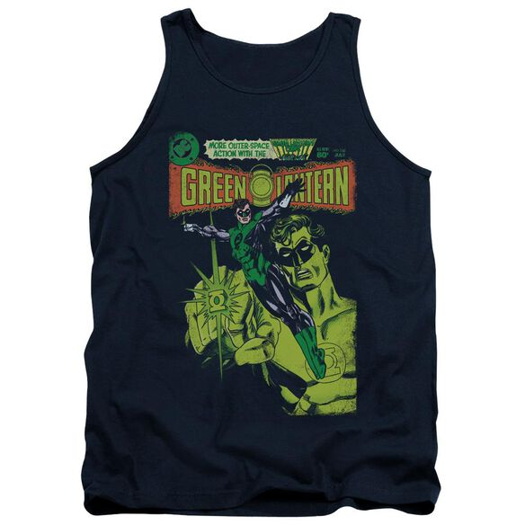 Green Lantern Vintage Cover Adult Tank