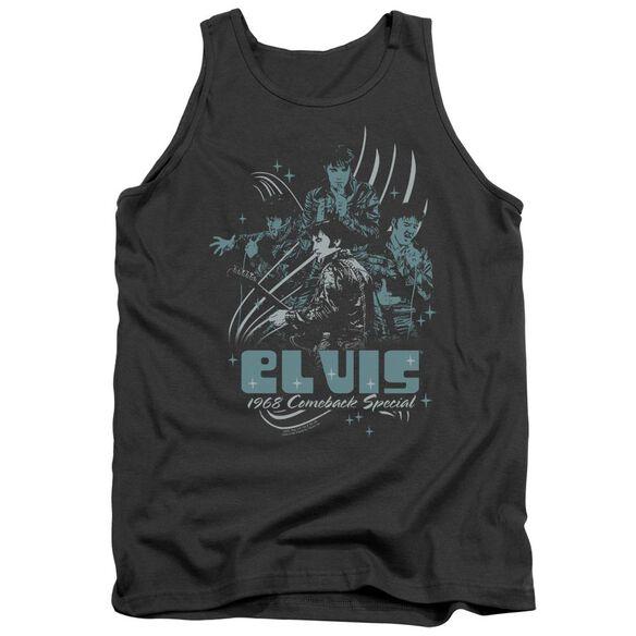 Elvis 68 Leather Adult Tank