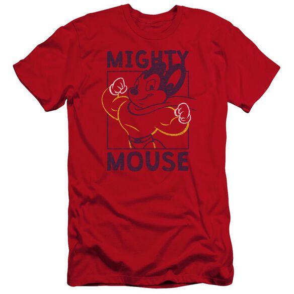 Mighy Mouse Break The Box Premuim Canvas Adult Slim Fit
