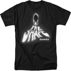 HALLOWEEN II THE SHAPE - S/S ADULT 18/1 - BLACK - 3X - BLACK T-Shirt
