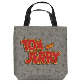 Tom And Jerry Logo Tote