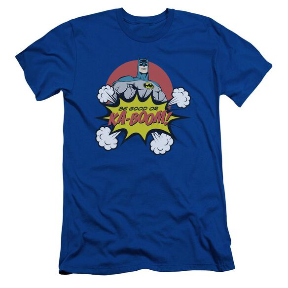 Dc Kaboom Short Sleeve Adult Royal T-Shirt