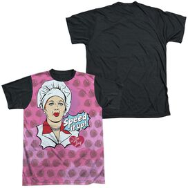 I LOVE LUCY ALL OVER SPEED IT UP-S/S ADULT WHITE FRONT T-Shirt