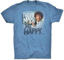 Bob Ross Trees Make Me Happy T-Shirt